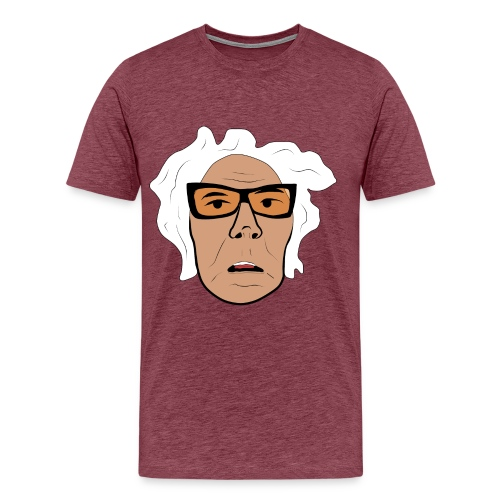 Gert-Åke ansikte - Premium-T-shirt herr