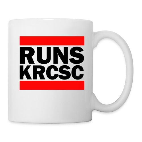 White KRCSC Run DMC mug - Mug
