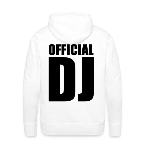 best dj hoody - Mannen Premium hoodie