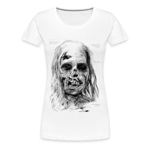 Zombie T-Shirt Frauen - Frauen Premium T-Shirt