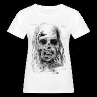 T-Shirts ~ Frauen Bio-T-Shirt ~ Zombie Bio T-Shirt Frauen