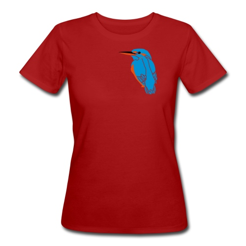 Common Kingfisher female - Women's Organic T-shirt