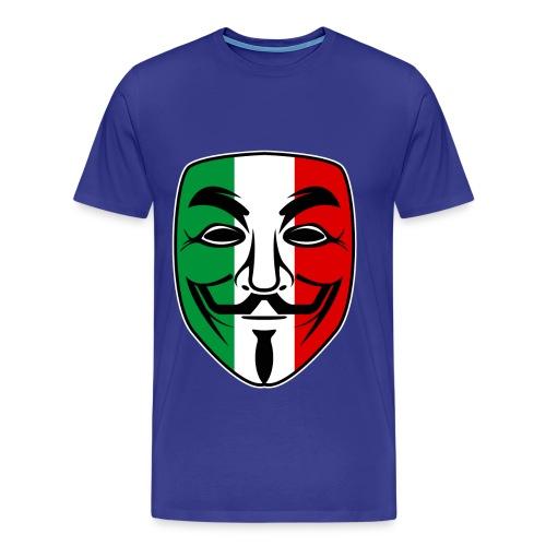 Anonymous ITA - Maglietta Premium da uomo
