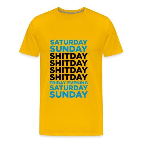 Shitdays - Camiseta premium hombre