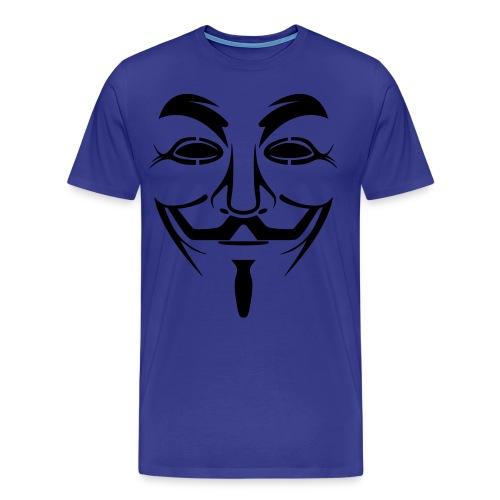 Fan des anonymus - T-shirt Premium Homme