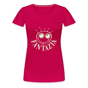 Fantazia Smiley Face t-shirt glow in the dark print - Women's Premium T-Shirt