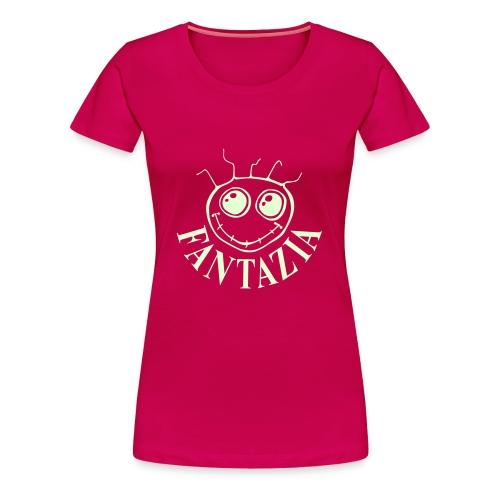 Fantazia Smiley Face t-shirt glow in the dark print - Women's Premium T-Shirt