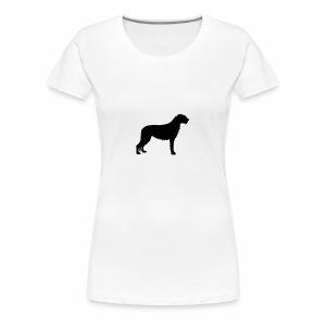 Irish Wolfhound 3 - Frauen Premium T-Shirt