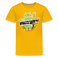 Shirts ~ Teenage Premium T-Shirt ~ Whazzz App?