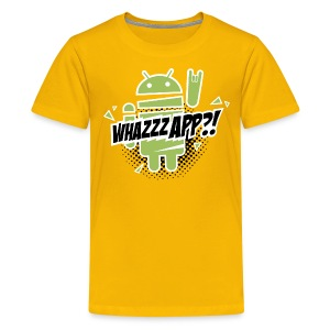 Whazzz App? - Teenage Premium T-Shirt