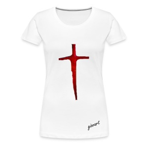 Cross  - Frauen Premium T-Shirt