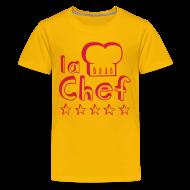 Shirts ~ Teenage Premium T-Shirt ~ Little Girl Chef