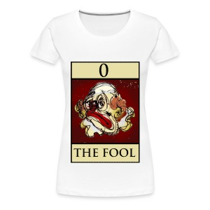 Tarot, T Shirt, The Fool, - Women's Premium T-Shirt