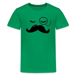 La Moustache - Teenage Premium T-Shirt