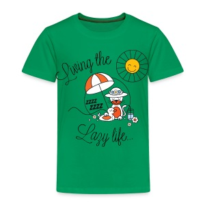 Living the lazy life - Kids' Premium T-Shirt