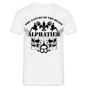 Alphatier - Männer T-Shirt