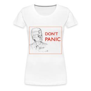 Dad's Army Jones - Don't panic - Women's Premium T-Shirt