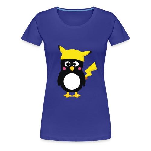 Penguin-Pikachu (Girls) - Frauen Premium T-Shirt