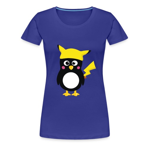 Penguin-Pikachu (Girls) - Frauen Premium T-Shirt
