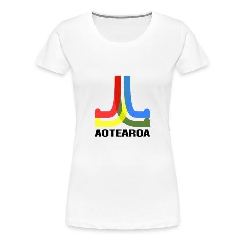 Moko - Aotearoa - Women's Premium T-Shirt