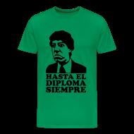 Magliette ~ Maglietta Premium da uomo ~ T-Shirt uomo con stampa effetto Velluto (Flock)