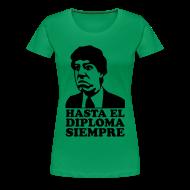 Magliette ~ Maglietta Premium da donna ~ T-Shirt donna con stampa effetto Velluto (Flock)