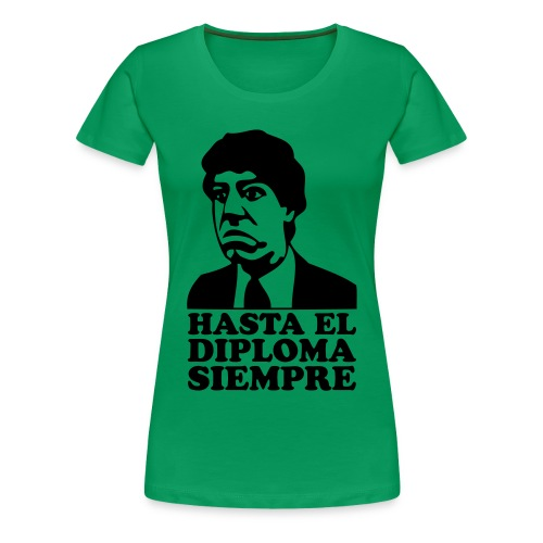 T-Shirt donna con stampa effetto Velluto (Flock) - Maglietta Premium da donna