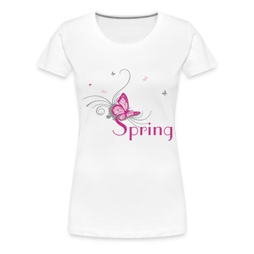 Arriva la primavera - Maglietta Premium da donna