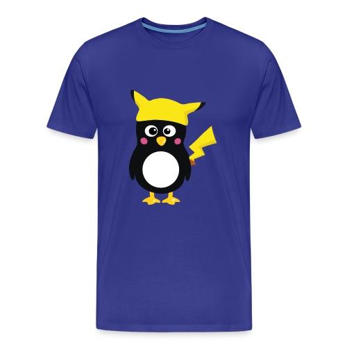 Penguin-Pikachu (Boys) - Männer Premium T-Shirt