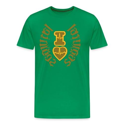 I LOVE LAS VEGAS SEXY GIRL - Men's Premium T-Shirt