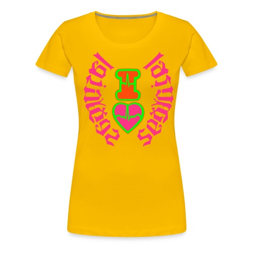 I LOVE LAS VEGAS SEXY GIRL - Women's Premium T-Shirt