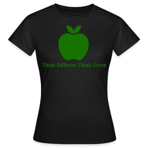 Think Different think green - T-shirt Femme