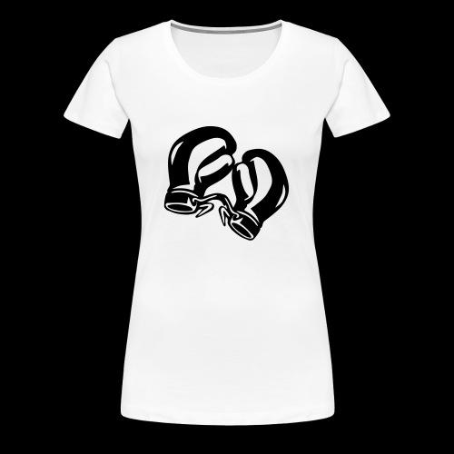 Damen Boxshirt1 - Frauen Premium T-Shirt