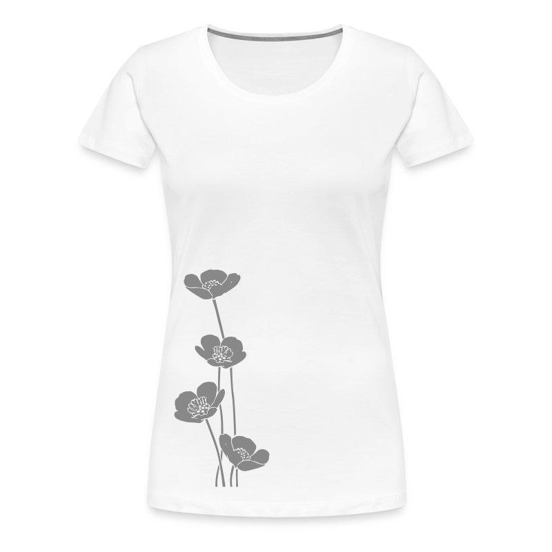 Maglietta con ranuncoli - Maglietta Premium da donna