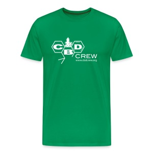 CBD Crew Men's OneColor Logo T-Shirt - Men's Premium T-Shirt