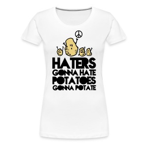 Just a Potato shirt  - Vrouwen Premium T-shirt