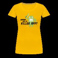 T-Shirts ~ Women's Premium T-Shirt ~ Killer App Android T-shirts