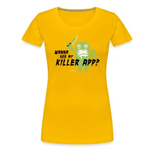 Killer App Android T-shirts - Women's Premium T-Shirt