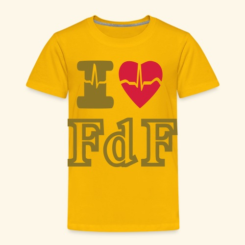 I LOVE FDF - T-shirt Premium Enfant