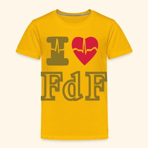I LOVE FDF - T-shirt Premium Enfant