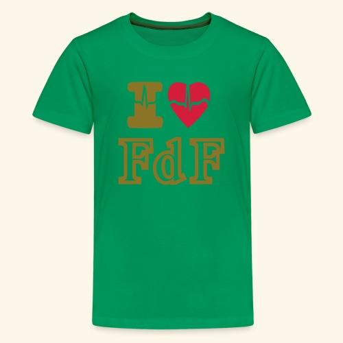 I LOVE FDF - T-shirt Premium Ado