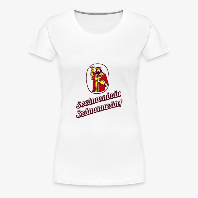 Damen T-Shirt mit Retro Logo