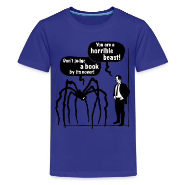 Cartoon: Horrible Beast! / Don't judge a book by its cover! Classic Teenager T-Shirt