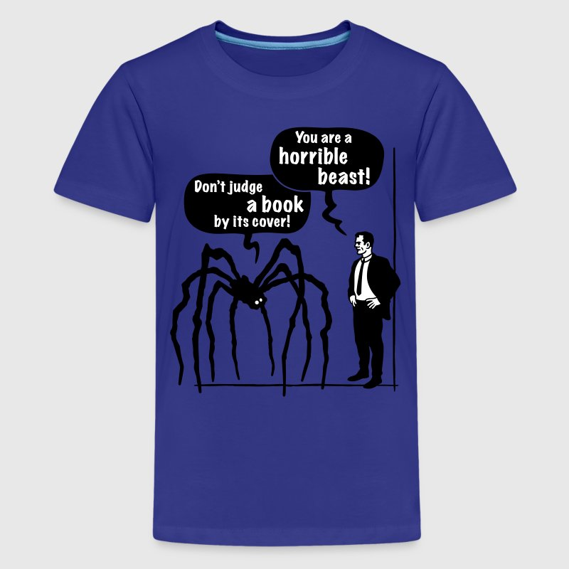 Classic Book Cover Tee Shirts : Cartoon horrible beast don t judge a book by its cover