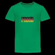 Shirts ~ Teenage Premium T-Shirt ~ Proud Germany Flag, Proud to be German