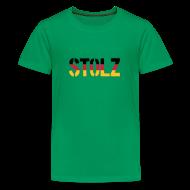 Shirts ~ Teenage Premium T-Shirt ~ Stolz Germany Flag, Proud to be German