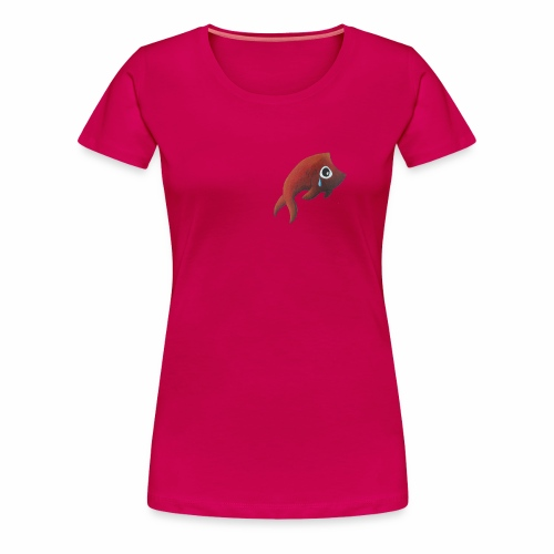 T-shirt poisson triste Femme - T-shirt Premium Femme