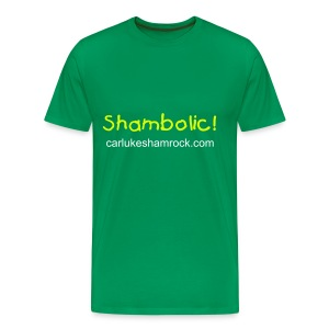 Shambolic! - tshirt light green - Men's Premium T-Shirt