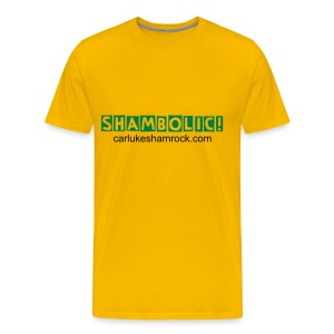 Shambolic! - tshirt yellow - Men's Premium T-Shirt