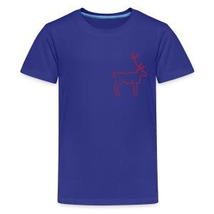 Rentier Shirt - Teenager Premium T-Shirt